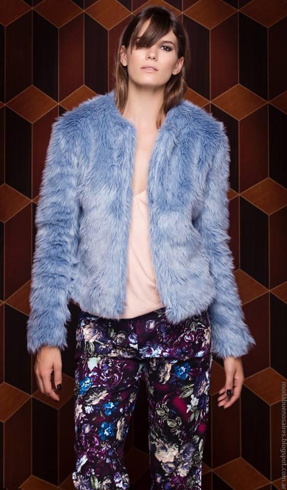 Moda invierno 2016 ropa de moda mujer Silvina Ledesma.