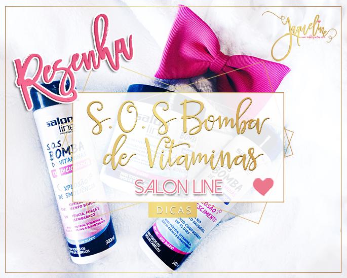 Shampoo Bomba Salon Line RESENHA