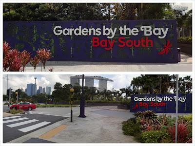 Main Entrance Via Marina Gardens Drive