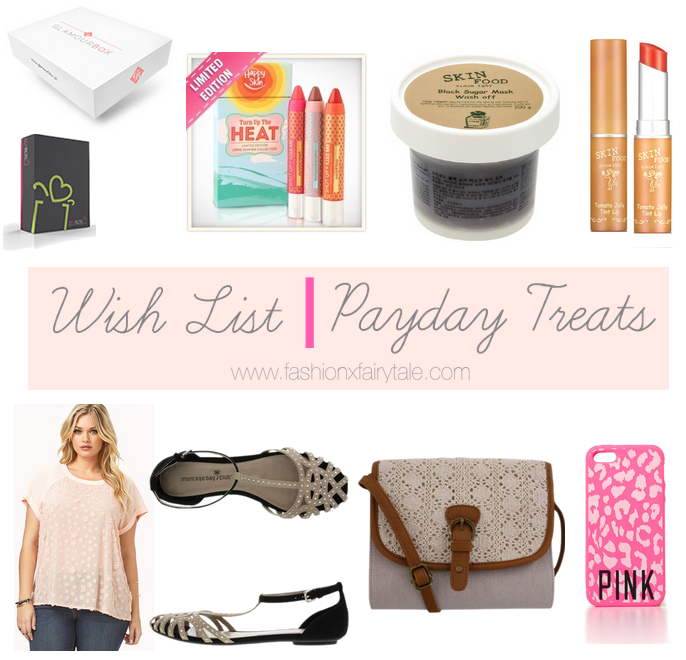 Wish list | Payday Treats