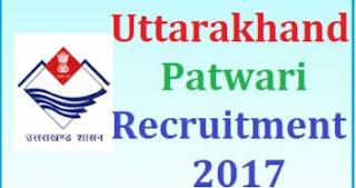 Uttarakhand Lekhpal  Notification 2017