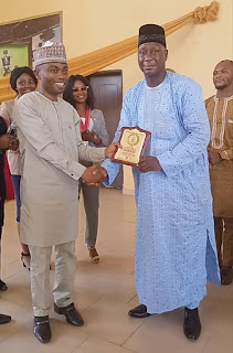 """Rotary Club awards Africa Young Leaders' patron, Dr. Muhammad S. Rabiu as """"Outstanding Personality of the Year"""""""