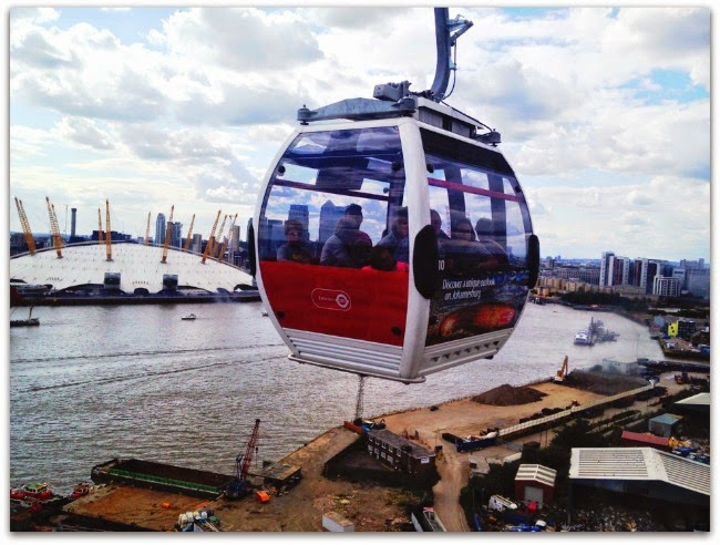 Emirates Royal Docks Cable Cars