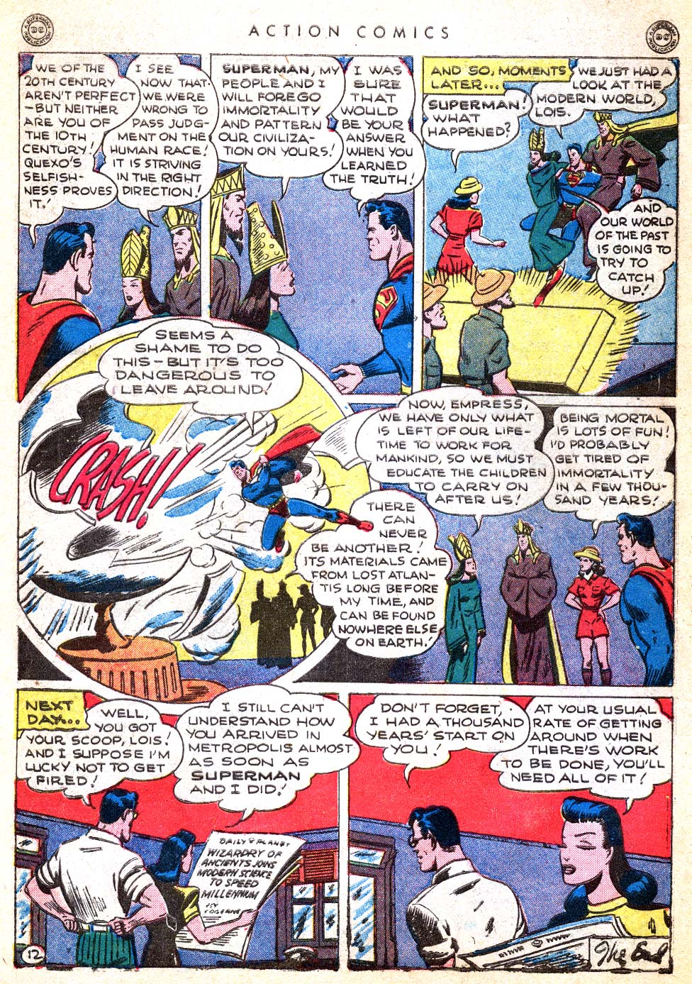 Read online Action Comics (1938) comic -  Issue #103 - 14