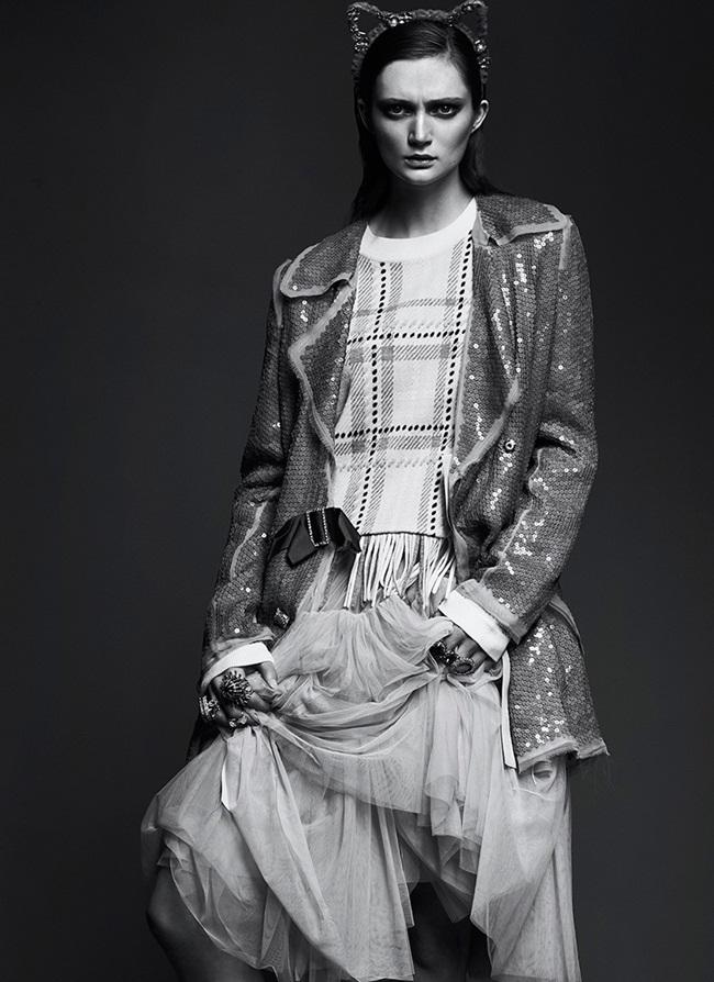 2016 SS Lanvin Sequined Blazer Editorials