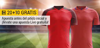 bwin promocion 10 euros Portugal vs Chile 28 junio