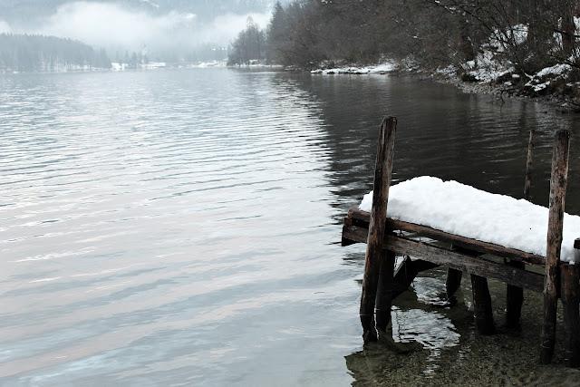 footbridge lake bohinj