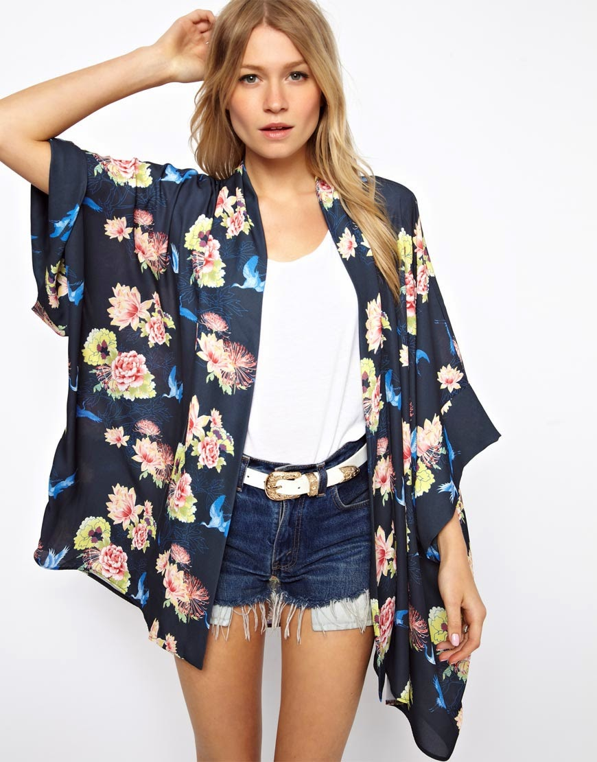 Kimono Fashion Trend 2015