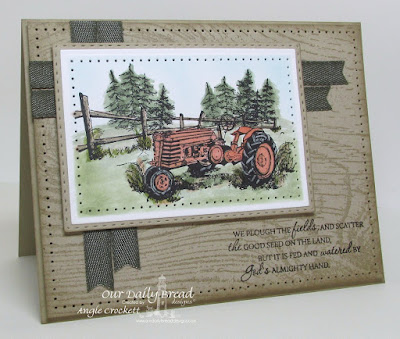 ODBD Plough the Fields, ODBD Double Stitched Rectangles Dies, ODBD Custom Rectangles Dies, ODBD Wood Background, Card Designer Angie Crockett