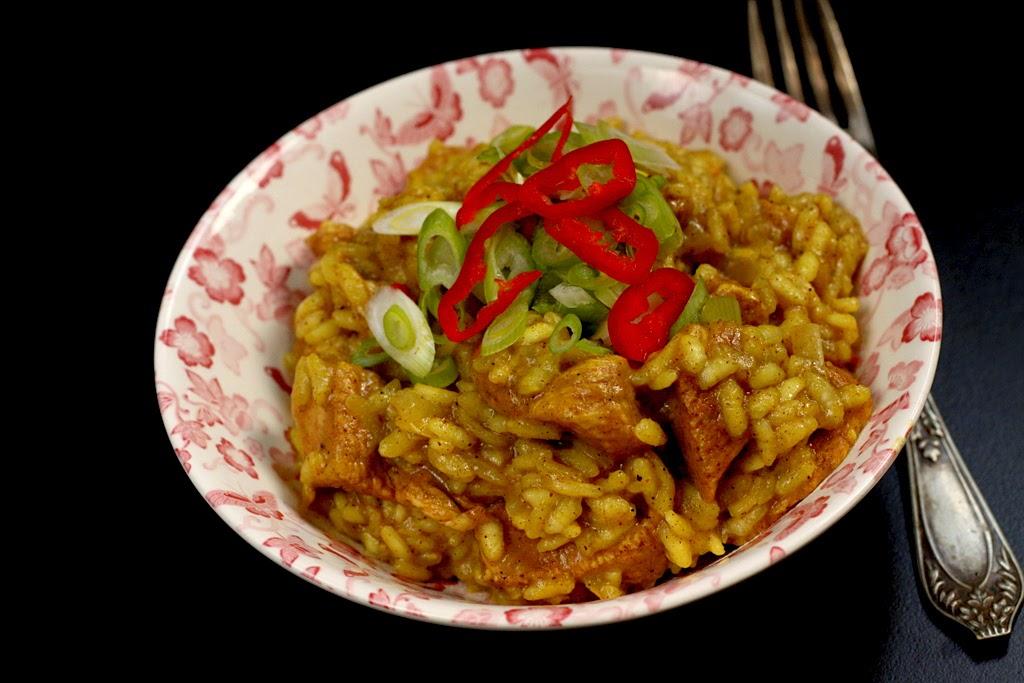 Risotto z kurczakiem w 5-ciu smakach