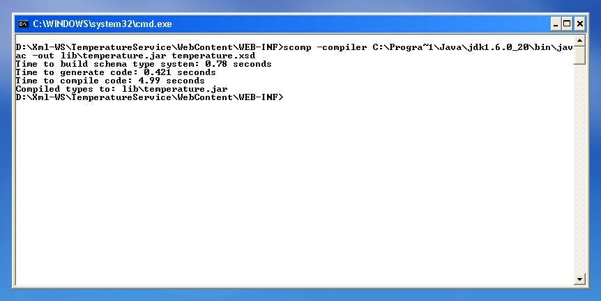 Java developers: Spring-WS -- XmlBeansMarshallers -- eclipse