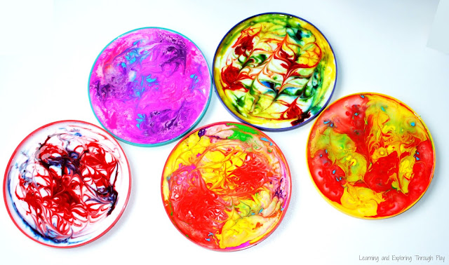 Process Art for Kids PVA Suncatchers - Learning and Exploring Through Play