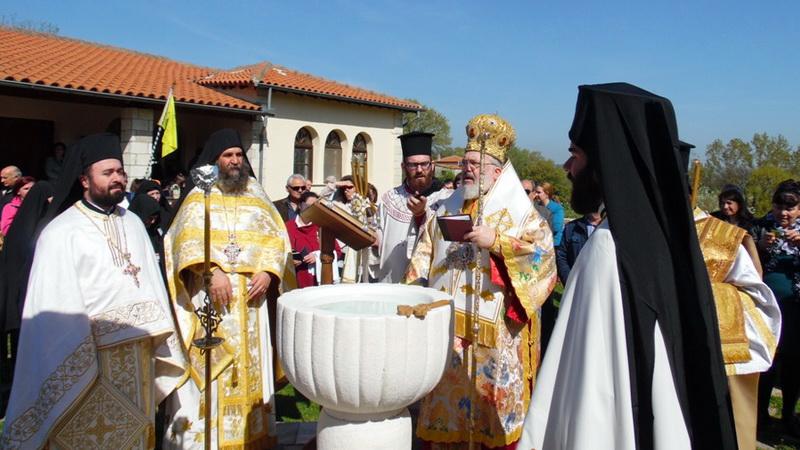 Γιορτάστηκε στο Μετόχι της Μονής Ιβήρων στον Έβρο η θαυματουργική εμφάνιση της εικόνας της Παναγίας Πορταΐτισσας