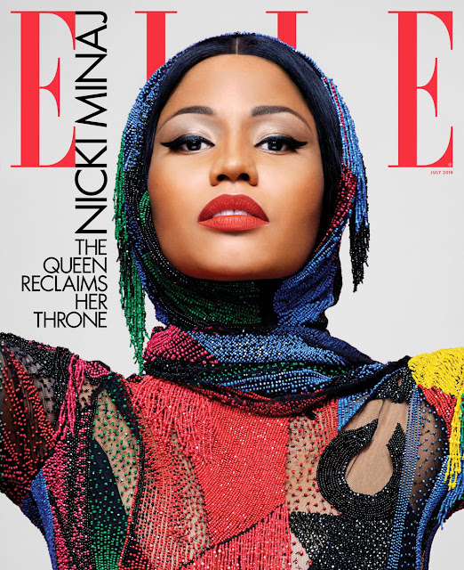 Nicki Minaj Talks Being Single, Meek Mill & More On The Cover Of ELLE Magazine