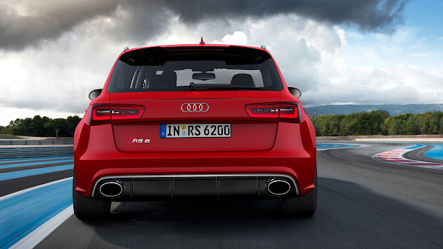 The all-new Audi RS 6 Avant back