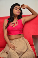 Akshita super cute Pink Choli at south indian thalis and filmy breakfast in Filmy Junction inaguration by Gopichand ~  Exclusive 097.JPG