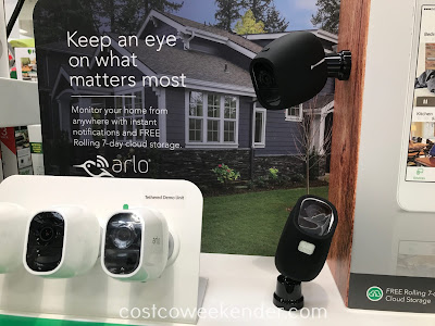 Keep an eye on your home when you're away with Arlo Pro 2 Wire-Free Security Cameras (model no. VCS4500C)