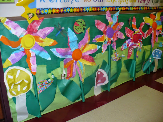 Hallway Displays Part 3: Enchanted Fairy Garden