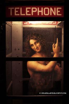 photomanipulation of masterworks-St. Baptiste-Leonardo da Vinci