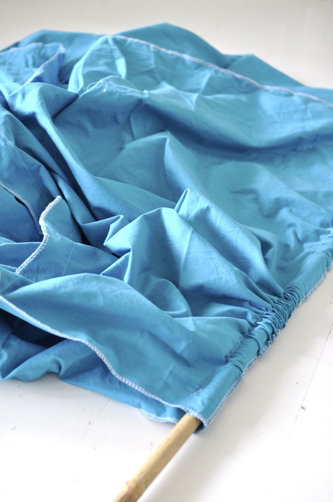 Teepee av 2 sengesett (eller metervare) DIYSDS – MANUELA HARDY