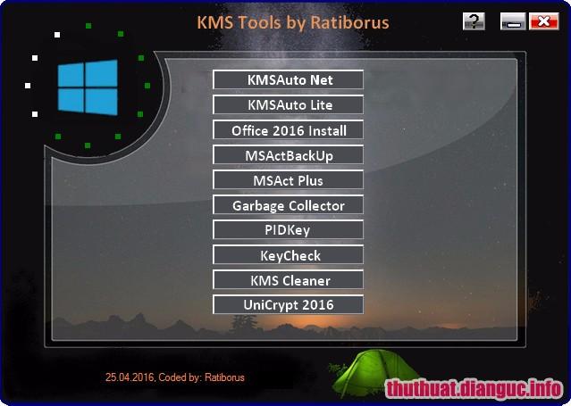 Download KMS Tools Portable - Công cụ Kích hoạt Windows Office