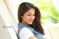 Telugu Actress Lavanya Tripathi Latest Pos in Denim Jeans and Jacket  0173.JPG