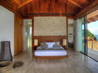 Bedroom Marble Flooring Applications