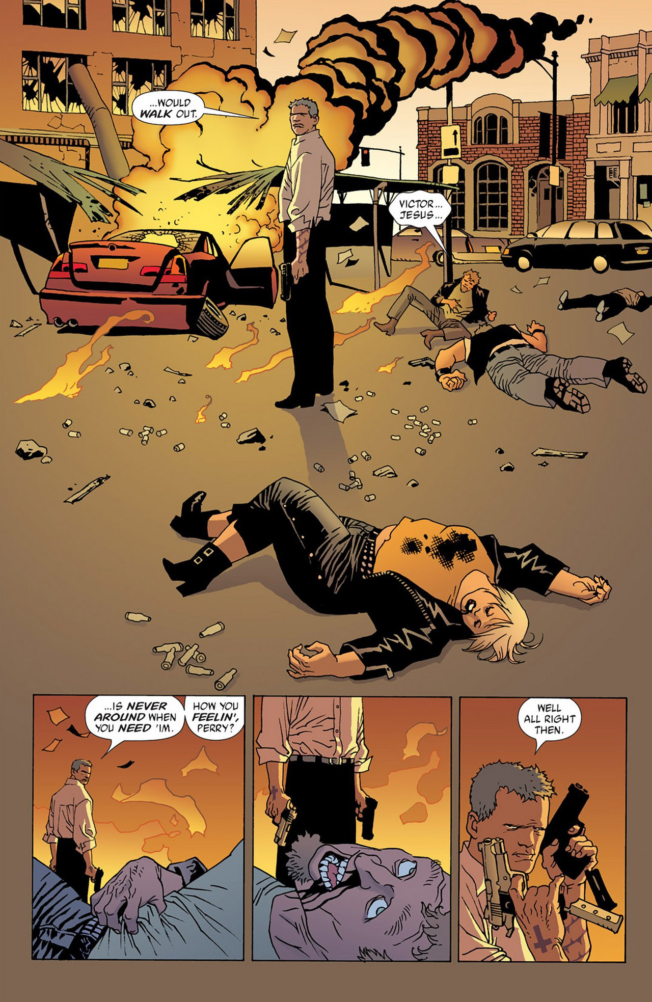 Read online 100 Bullets comic -  Issue #50 - 28