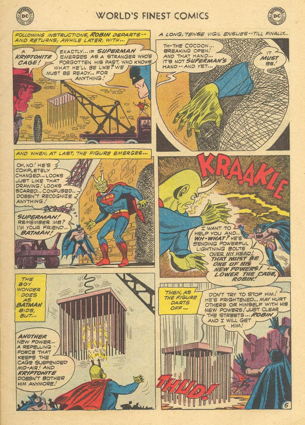 Read online World's Finest Comics comic -  Issue #105 - 7