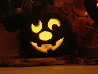 sily face pumpkin pattern