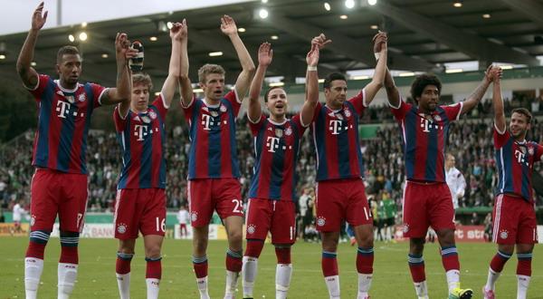 Bayern  Munchen Makin Tak Terkejar