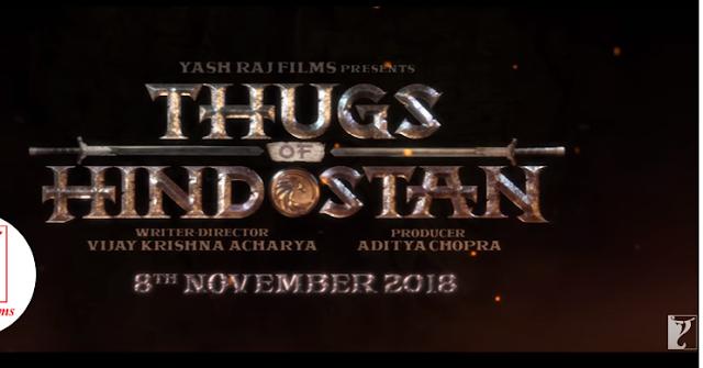 आमिर खान की 'ठग्स ऑफ हिंदुस्तान'  जल्द ही आपके थिएटर पे आने वाली है देखिये मोशन पिक्चर