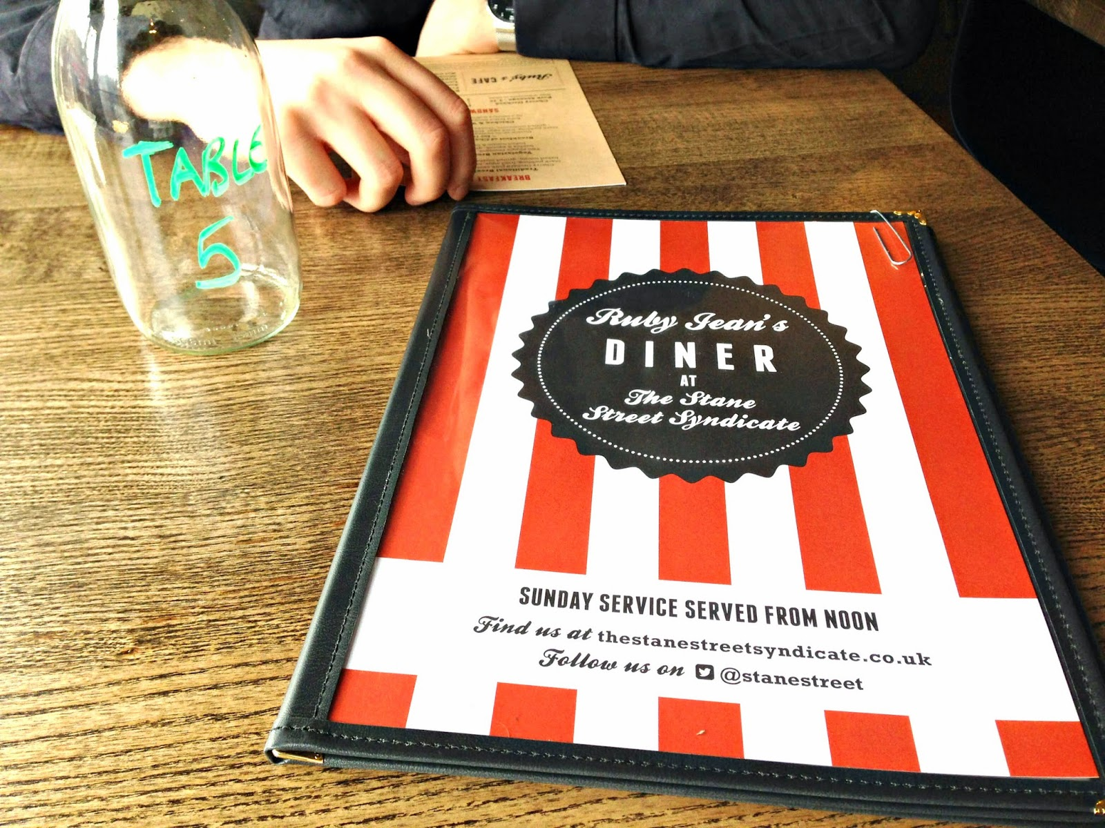 stane street syndicate menu clapham london