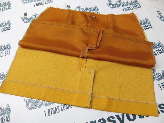 tutorial forrar una falda
