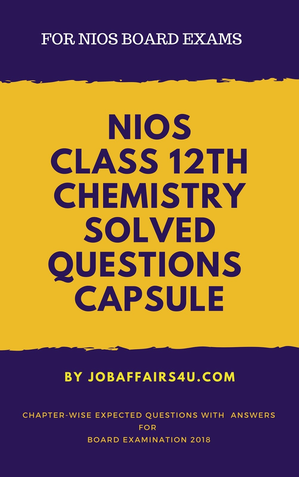 Expected NIOS 12th Class Model Question Paper 2018 with