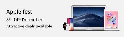 Apple Fest: Upto Rs 9,000 Off on Laptops + 5% Instant Discount via ICICI Debit/Credit Card EMI