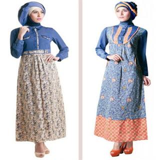 model baju kurung dasar batik
