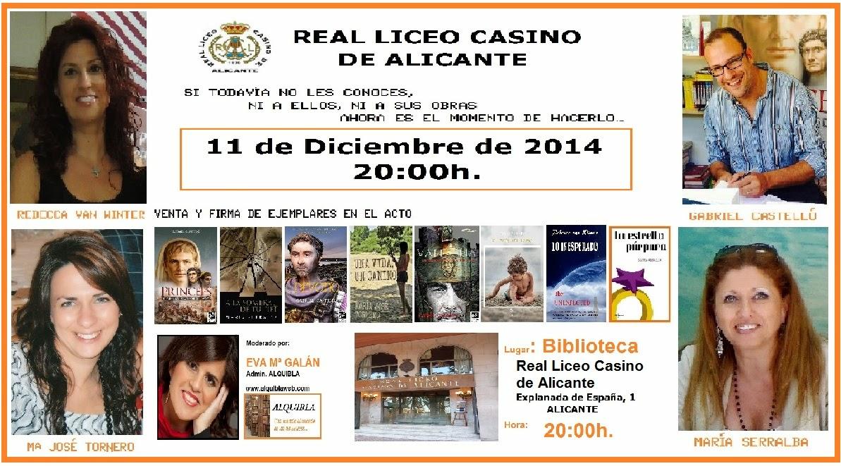 El Blog de María Serralba - Encuentro Real Liceo Casino Alicante