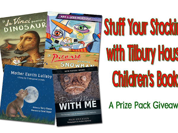 Stuff Your Stocking with Tilbury House Children's Books {+ A Prize Pack Giveaway}