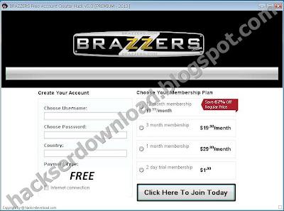 Brazzers free pass