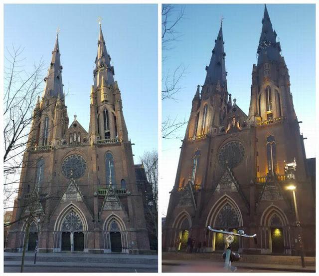 iglesia neogótica de Santa Catalina eindhoven