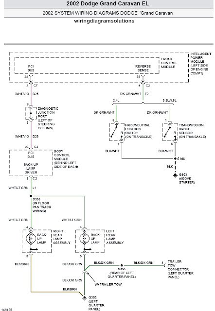 2002 Dodge Grand Caravan EL System Wiring Diagrams