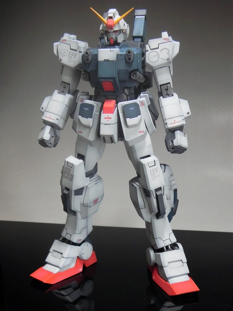 Custom Build: MG 1/100 RX-79BD-3 Blue Destiny Unit 3 [Conversion]