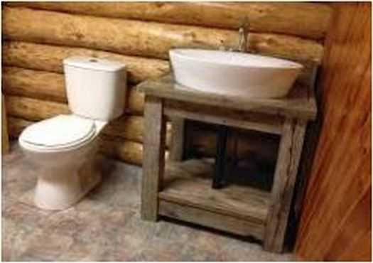 2 simple ideas For Rustic Bathroom Remodel