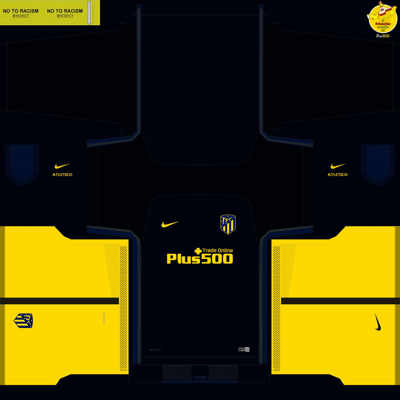 El Submarino del PES: kits Atletico de Madrid New logo pes ...