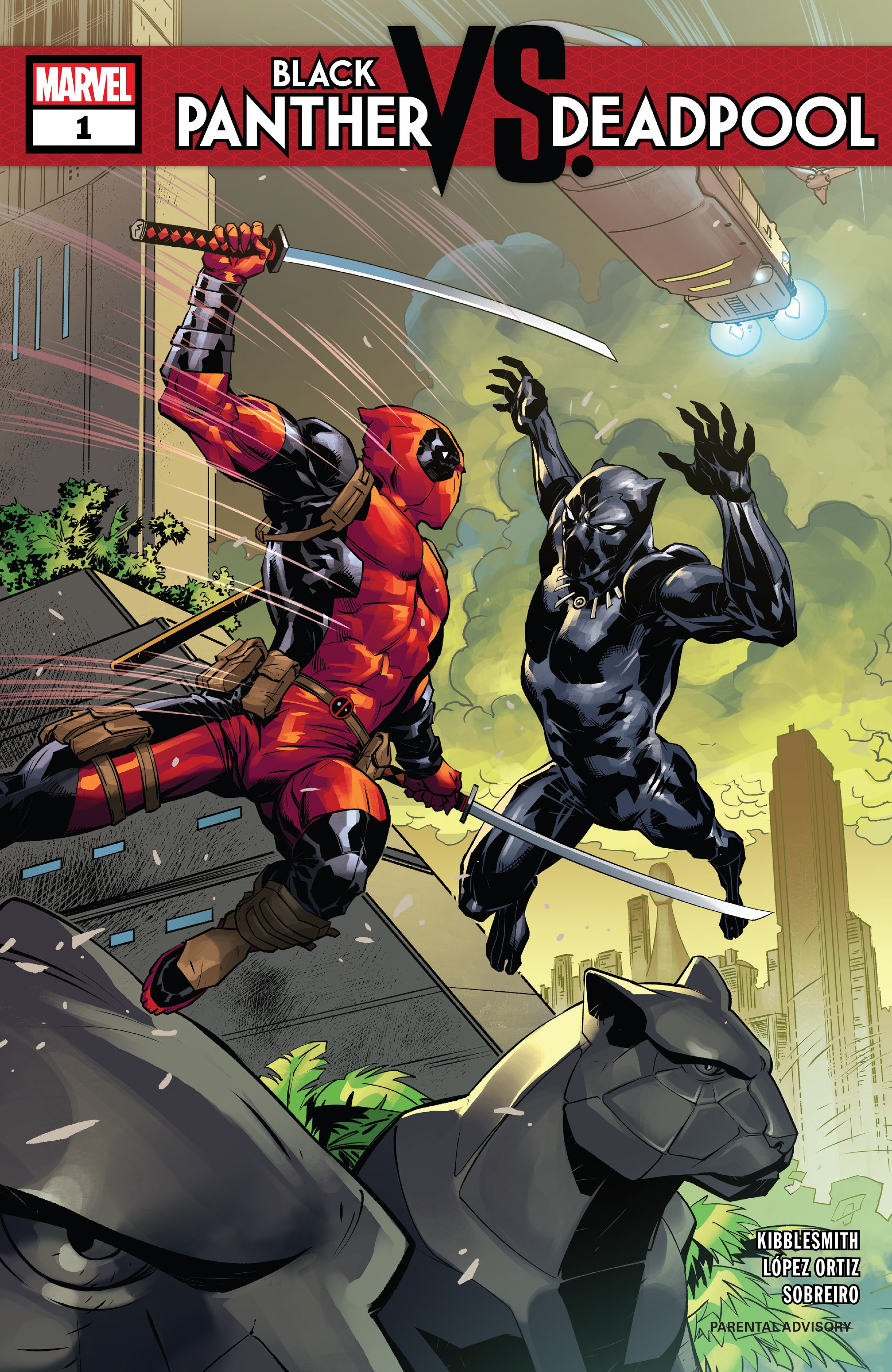 Black Panther vs Deadpool 1 Page 1