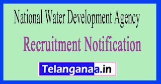 National Water Development Agency NWDA Recruitment Notification