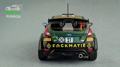 IXO Altaya Ford Fiesta R5, L. Bertelli / M.Dotta, Rallye Monte-Carlo 2014