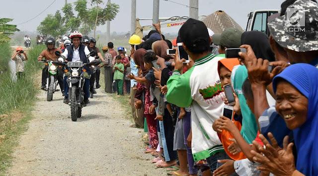 Saat Jokowi Sindir Warga Teluk Jambe yang Demo di Istana