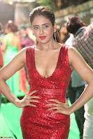 Parul Yadav in Sleeveless Deep Neck Red Gown at IIFA Utsavam Awards March 2017 058.JPG